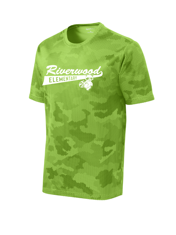 Riverwood Youth and Adult Camo Hex Performance Tee