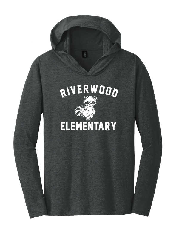 Riverwood Youth & Men's Triblend Long Sleeve Tee Hoodie