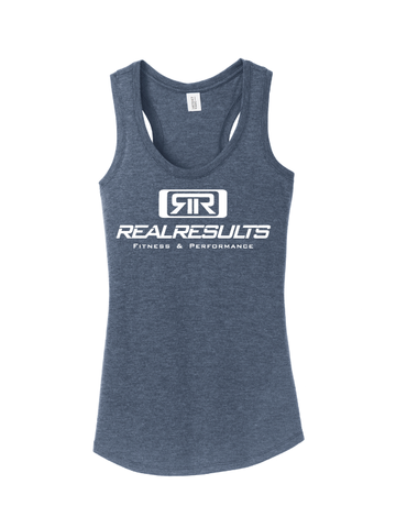 Real Results Women's Triblend Racerback Tank