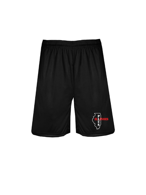 "ILLINOIS PLUS  9"" Shorts with Pocket"