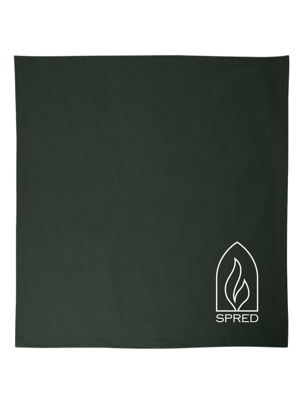 SPRED   Fleece Blanket EMBROIDERED