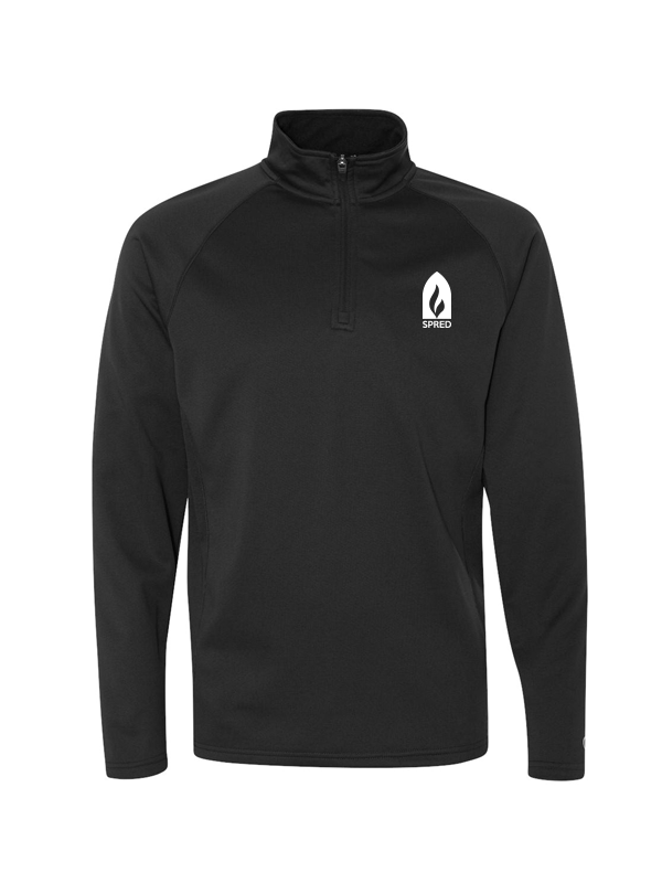 SPRED CHAMPION ADULT 1/2 Zip with Embroidered logo