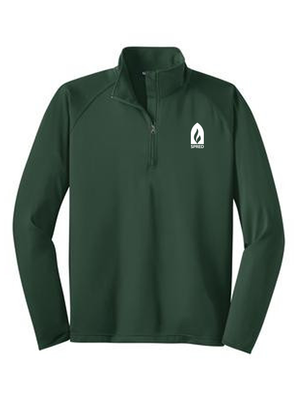 SPRED MEN'S 1/2 Zip Pullover