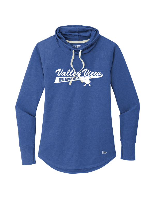 Valley View Ladies New Era Sueded Cowl Tee