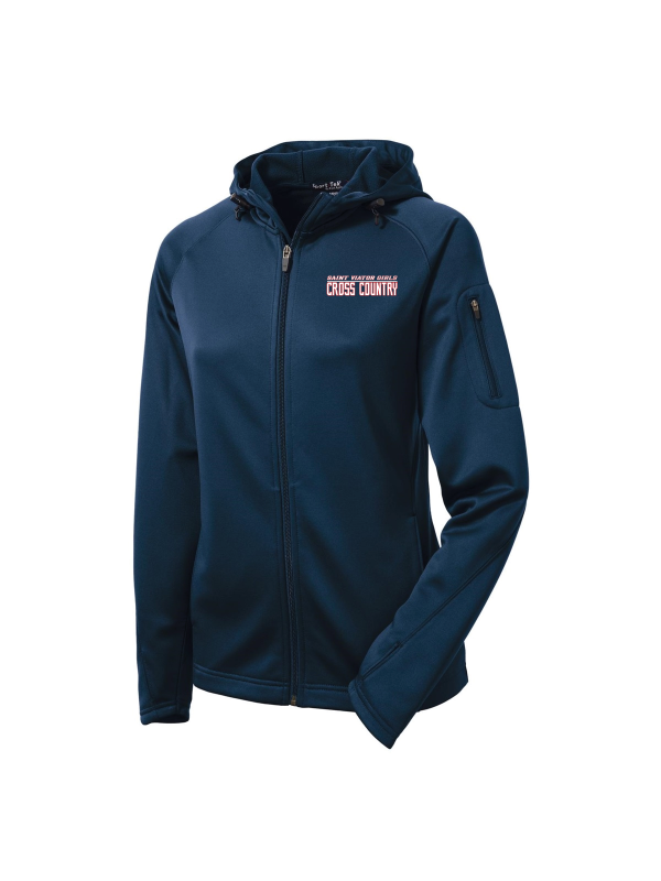 Saint Viator Girls Cross Country Full-Zip Hooded Jacket