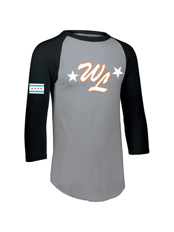 West Lawn Youth & Adult Long 3/4 Sleeve Baseball Tee