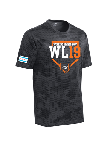 West Lawn Adult & Youth Camo Hex Performance Tee