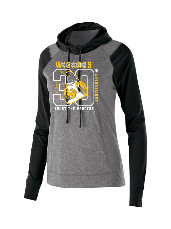 Wizards Ladies 30th Anniversary Lightweight Echo Hoodie
