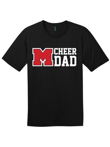 MHS Cheer Dad Tee