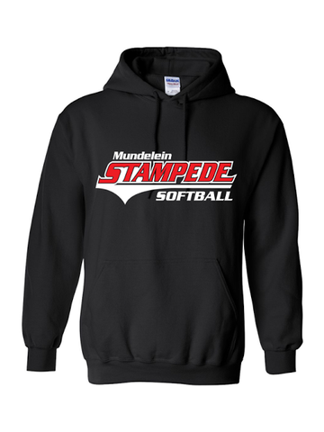 Stampede Black Hooded Sweatshirt