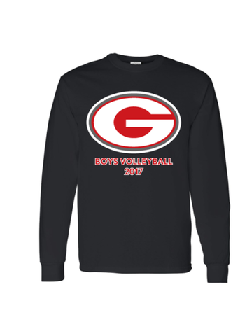 Grant Volleyball Long Sleeve T-Shirt