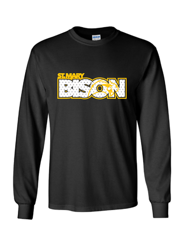 St. Mary Bison Long Sleeve T-Shirt