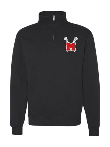MHS Girls Lacrosse 1/4 Zip Sweatshirt