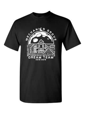 Mechanics Grove Dream Team T-Shirt - Galaxy Wolves