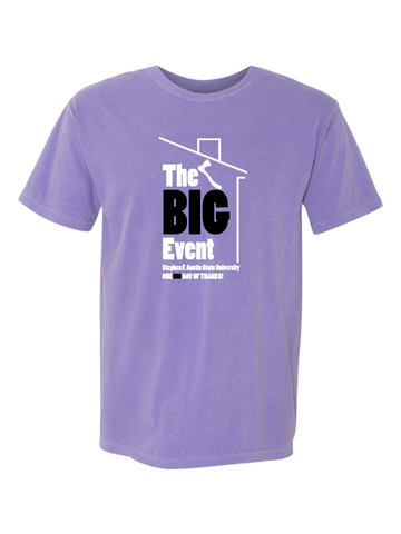 The Big Event Comfort Colors Tee