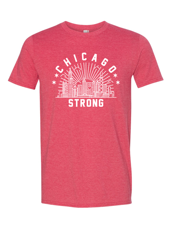 Chicago Strong Unisex T-Shirt (Multiple Colors Available)