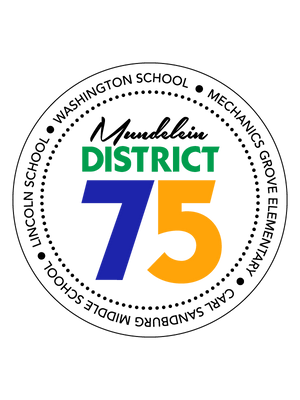 District 75 Car Magnet