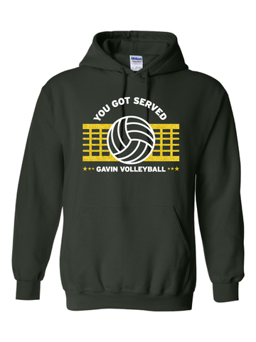 Gavin South Volleyball Hooded Sweatshirt