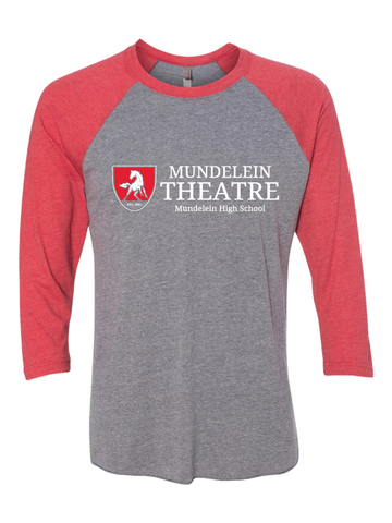 Mundelein Theatre 3/4 Sleeve T-Shirt
