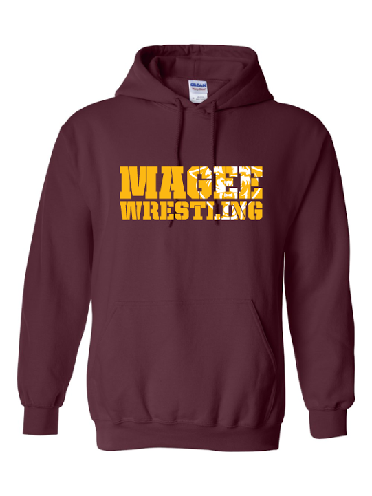 Magee Wrestling Hooded Sweatshirt