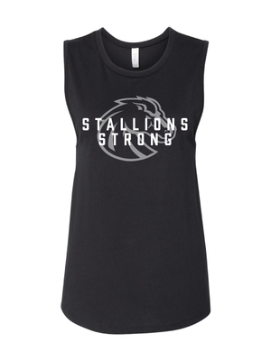 Stallions Strong Women's Muscle Tank