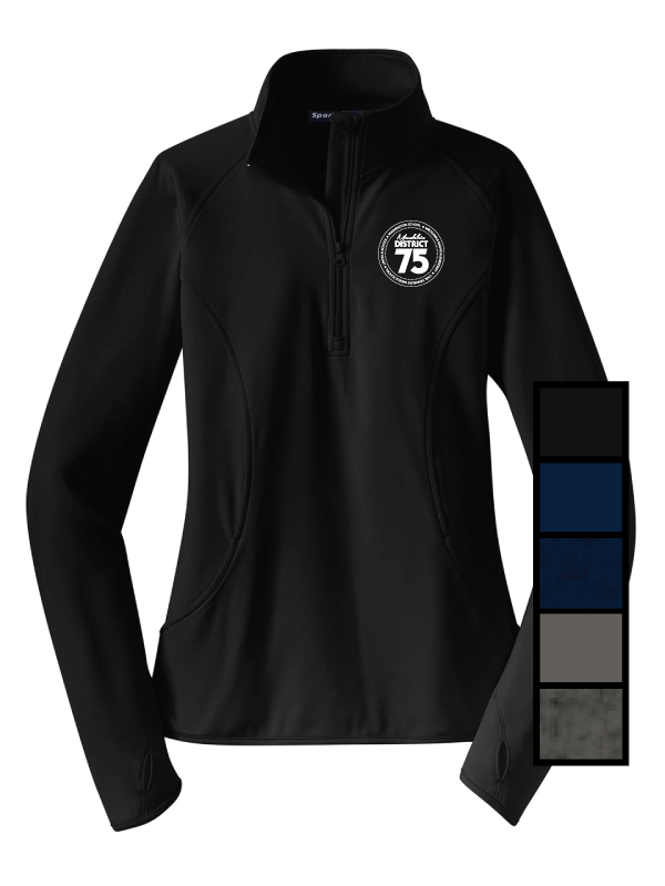 District 75 Ladies 1/4 Zip
