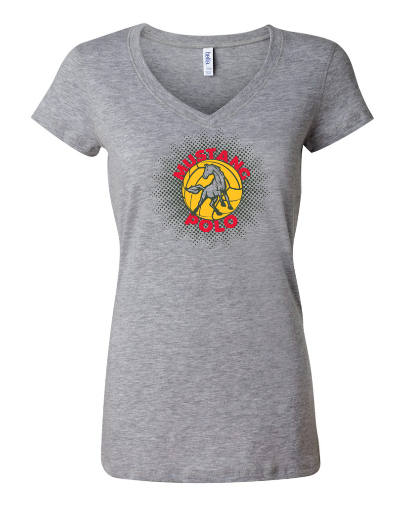 MHS Water Polo Ladies V-Neck Tee
