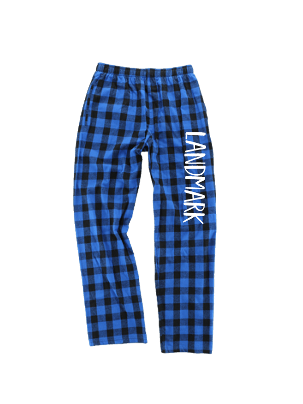 Royal/Black Buffalo Plaid