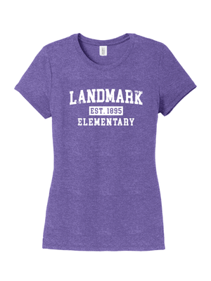 Landmark Ladies Triblend Tee