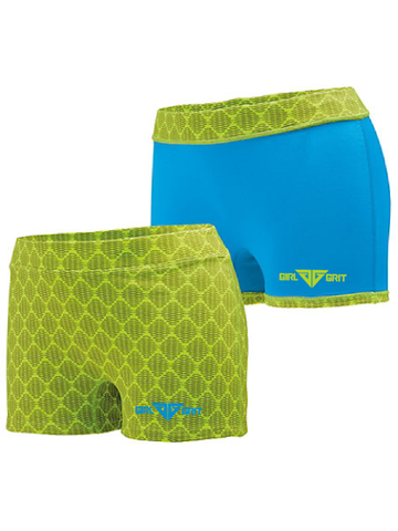 GIRL GRIT  LADIES IMPRESS SHORT: REVERSIBLE