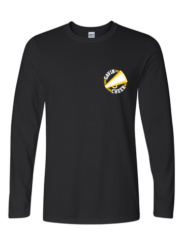 Gavin South Cheer Long Sleeve Tee