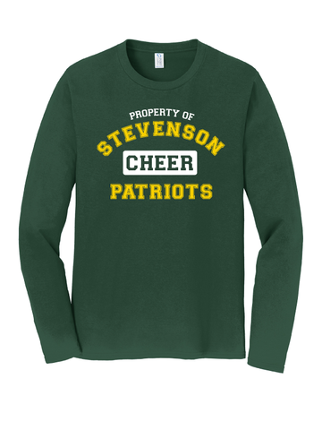 Stevenson Cheer Long Sleeve T-Shirt