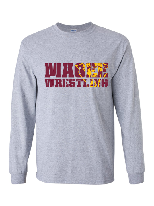 Magee Wrestling Long Sleeve T-Shirt