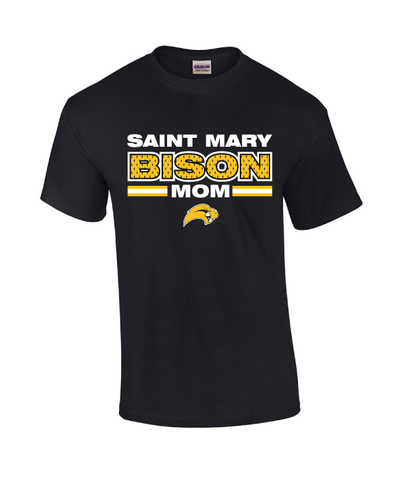 St. Mary Bison Mom Tee