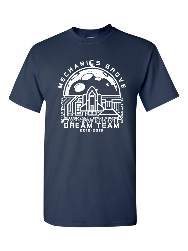 Mechanics Grove Dream Team T-Shirt - Darth Wolves