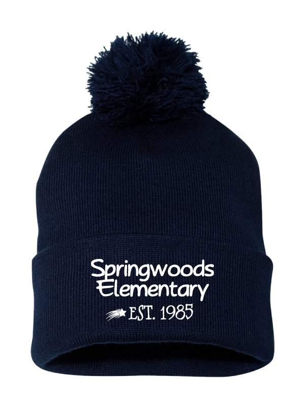 Springwood Elementary Knit Hat