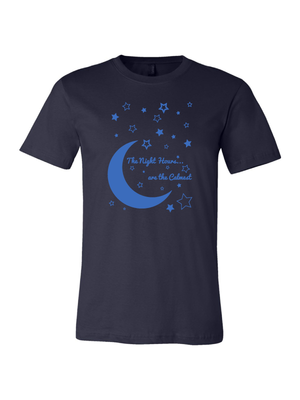 Night Hours Short Sleeve Tee by Maureen McGowan