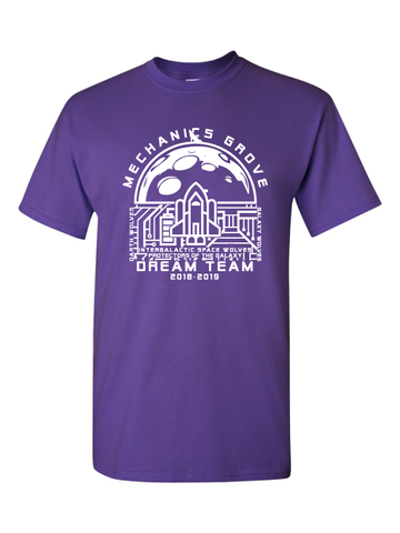Mechanics Grove Dream Team T-Shirt - Intergalactic Space Wolves, Protectors of the Galaxy