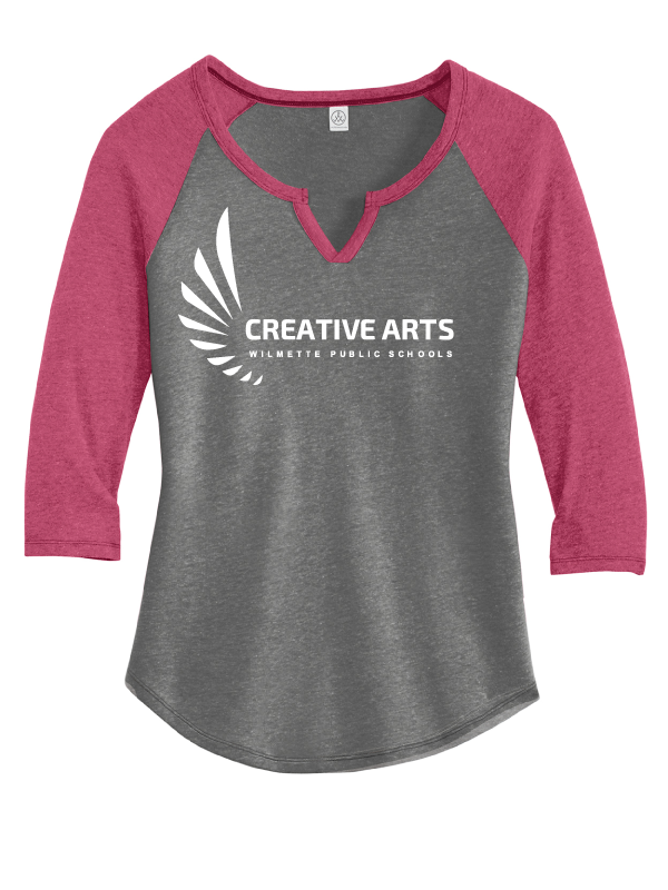 Creative Arts Women's 3/4 Sleeve