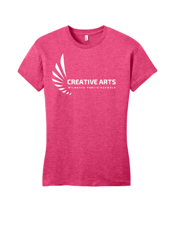 Creative Arts Women's Fitted Tee