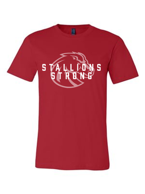 Stallions Strong Unisex Tee (Multiple Colors Available)