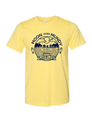 Moon Over Mundy Unisex T-Shirt (Multiple Colors Available)