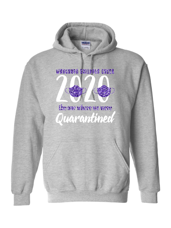 Wauconda Cheer Grey Hoodie (Youth & Adult)