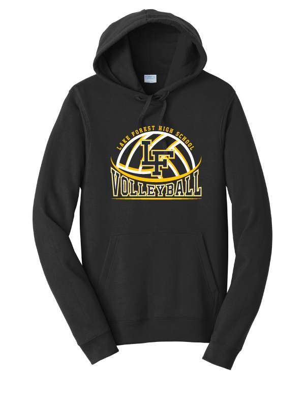 Lake Forest Volleyball Hoodie (Multiple Colors Available)