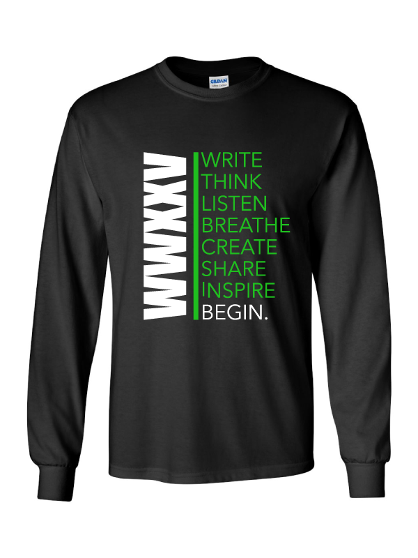 Writers Week Long Sleeve T-Shirt