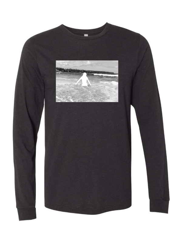 Blank Beach Long Sleeve Tee by Abe Ptasienski