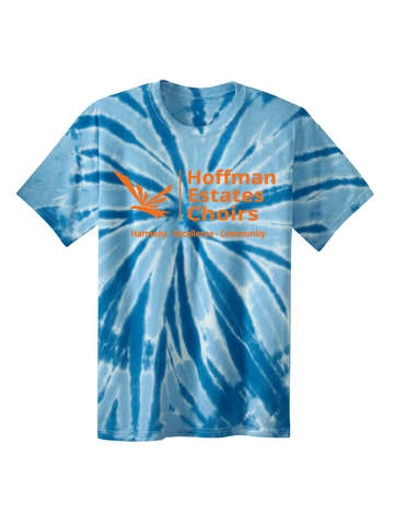 HEHS Choir Tie-Dye T-Shirt