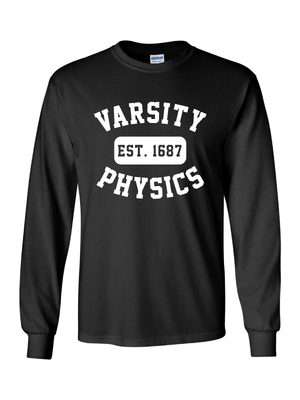 RLHS Varsity Physics Long Sleeve T-Shirt