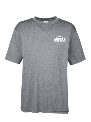 NWSRA FULL TIME STAFF Men's Cool & Dry Heathered Performance T-Shirt