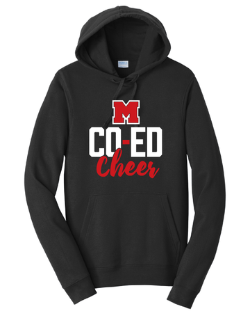 MHS Cheer Hooded Sweatshirt (Multiple Colors Available)